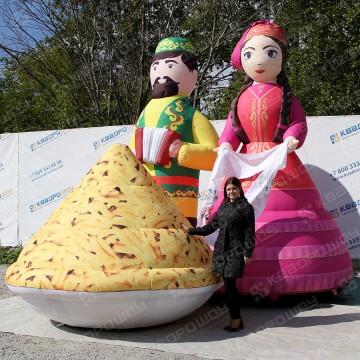 Большие надувные декорации для праздника сабантуй