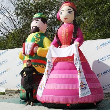 Надувные декорации на праздник сабантуй