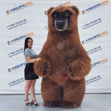 Надувные меховые костюмы белых медведей