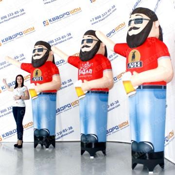 надувные подвижные фигуры для рекламы