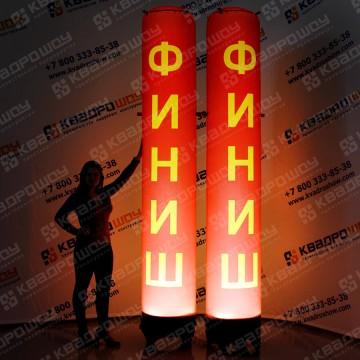 надувная светящаяся колонна финиш купить