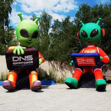 Надувные фигуры Инопланетяне DNS