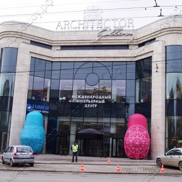 Надувные декорации для наружной рекламы Матрешки