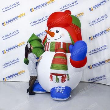 Рекламные снеговики