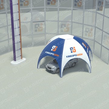 Пневмокаркасная конструкция шатер