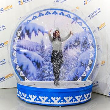 Новогодний надувной шар чудес