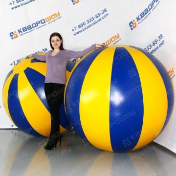 огромные надувные мячи пвх долька