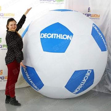 надувной футбольный мяч с лого