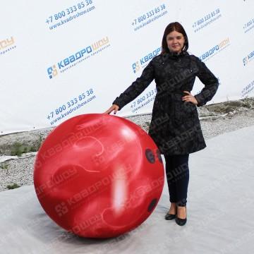 Огромный надувной шар для боулинга