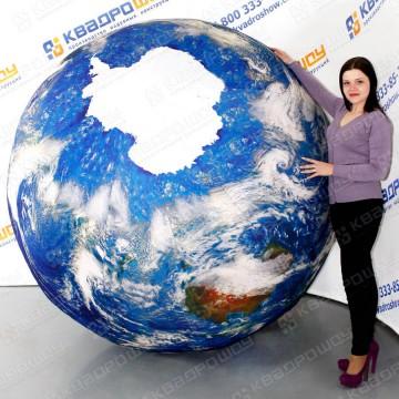 огромный надувной шар планета земля
