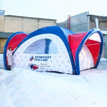 Надувная герметичная палатка