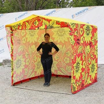 Палатка принтованная Хохлома каркасная