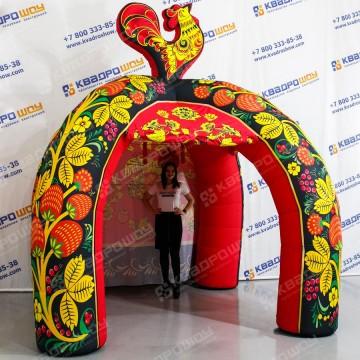 Надувная декорационная палатка