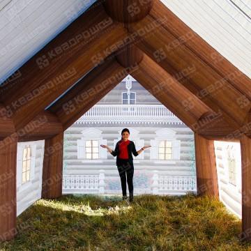 Надувная конструкция Дом