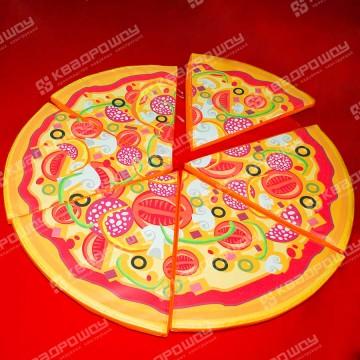 командный аттракцион доставка пиццы