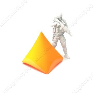 Пневмофигура для пейнтбола пирамида