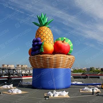 Пневмофигура огромная корзина с фруктами