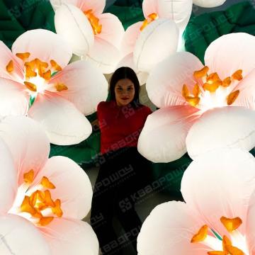 Пневмогирлянда с раскрытием цветок Яблоня