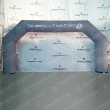 Надувная брендированная арка