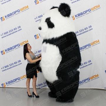 Надувной костюм медвежонок Тедди девочка