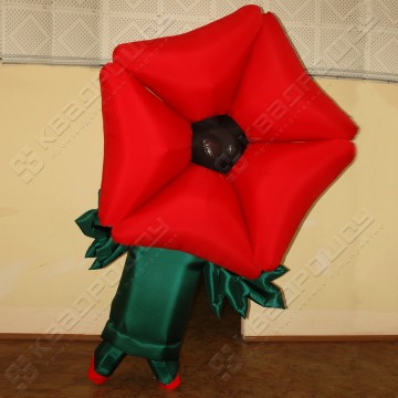 Надувной костюм Цветок