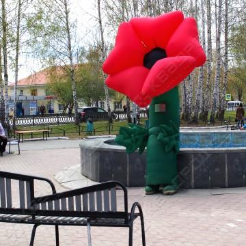 Ростовая кукла надувная Цветок