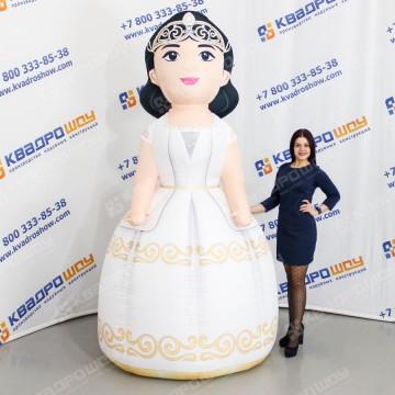 Пневмокостюм Невеста