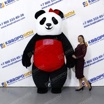 Надувной костюм Панда девочка