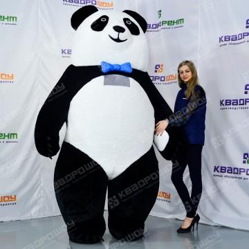 Надувной костюм Панда мальчик