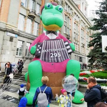 ростовая кукла большой крокодил гена