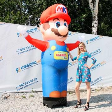 Надувная ростовая кукла Марио