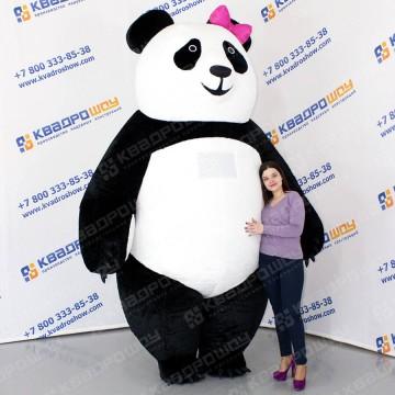 ростовая кукла меховой костюм панды