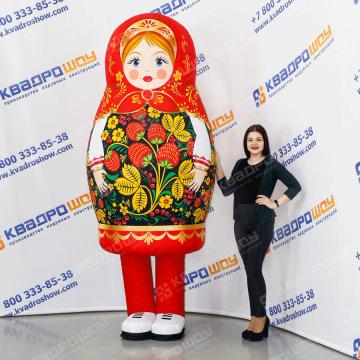 Ростовой костюм русская матрешка