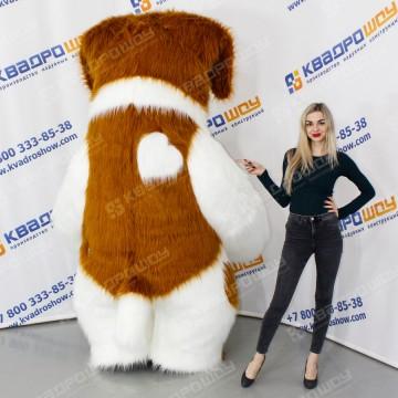 ростовой меховой костюм собака