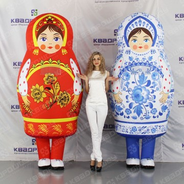 Надувные костюмы матрешки