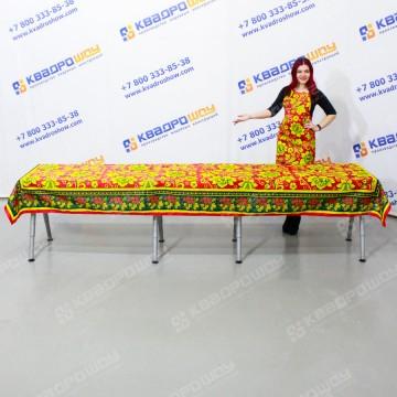 Скатерть стандарт Хохлома на большой стол