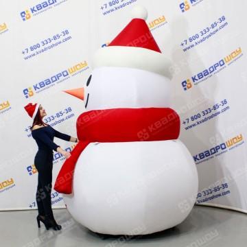 Снеговик для оформления