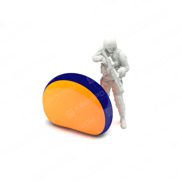 надувная фигура для пейнтбола сегмент
