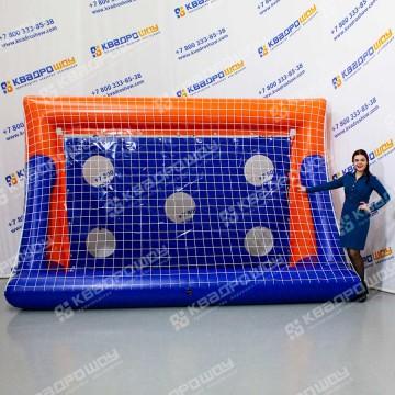 Ворота надувные футбольные