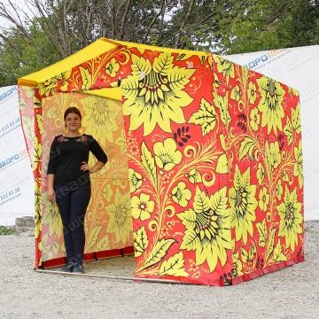 торговая палатка хохлома на масленицу