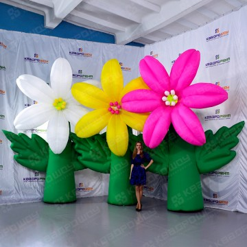 Огромные декорации цветы Лилии