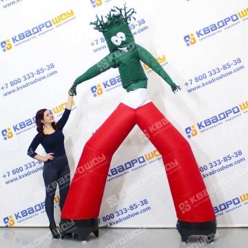 Надувной танцующий Аэромен в базовых цветах