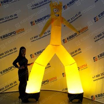 желтый танцующий человечек аэромен