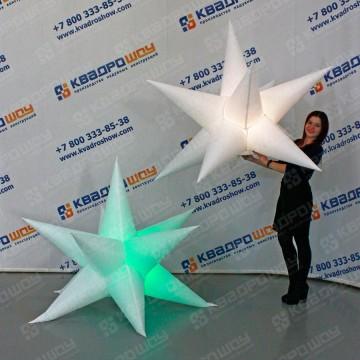 Звезда декорационная подвесная