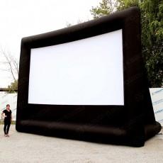 Надувной экран с дополнительной опорой