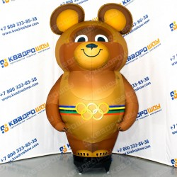 Надувная фигура Олимпийский Мишка