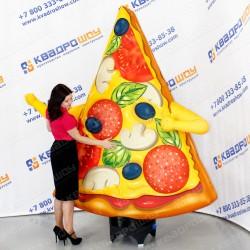 Надувная пицца зазывала для пиццерии