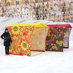 Торговая палатка на металлическом каркасе