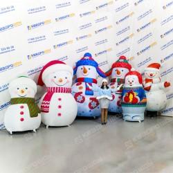 Надувные Снеговики в ассортименте