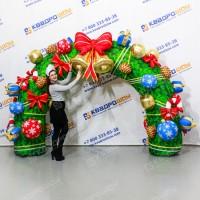 Надувная рождественская арка